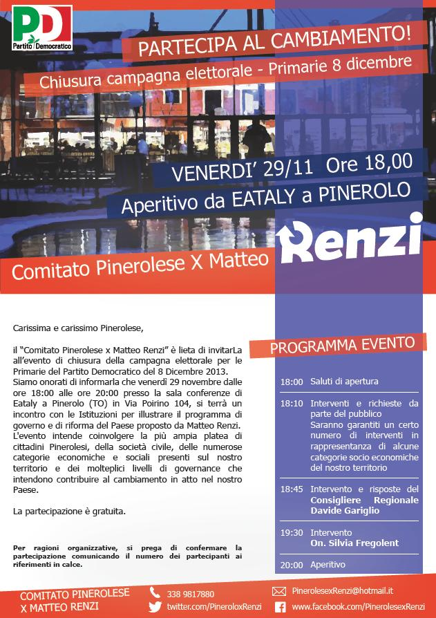 Pinerolo_Renzi