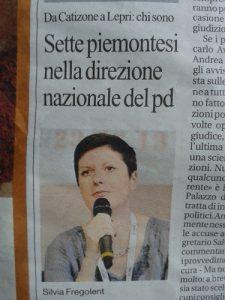 Silvia Fregolent eletta nella Direzione Nazionale del PD