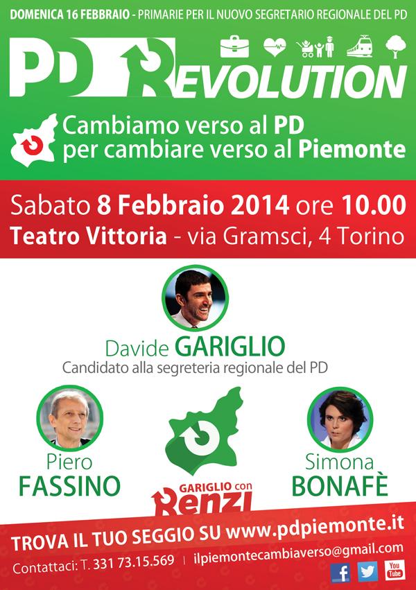 Gariglio - PD_Revolution_8_febbraio